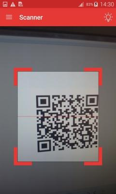 ScanDroid QR and Barcode scanner