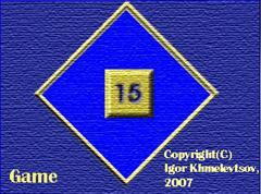 Puzzle 15 (freeware)