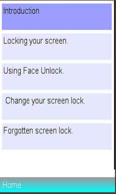 screen off and lock app