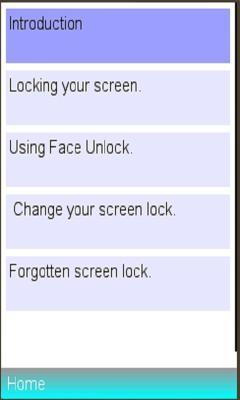 screenlock Info