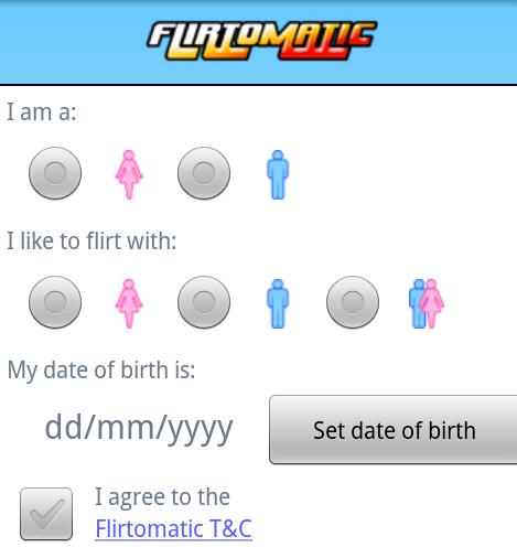 flirtomatic free dating site