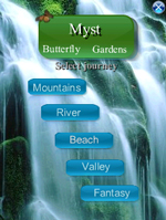 Myst - Butterfly Gardens Relax program