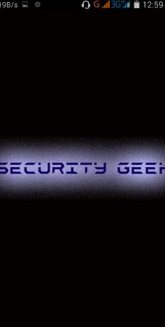 security geek