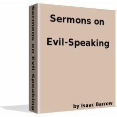 Sermons on Evil-Speaking