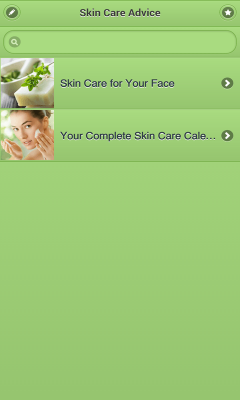 Skin Care Advice