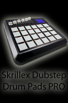 Skrillex Fan DubStep Drum Pads