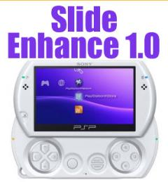 PSP Homebrew: Slide Enhance 1.0