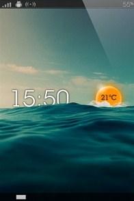 Rise iPhone lockscreen