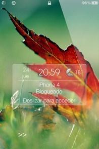 Nature iPhone lockscreen you