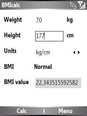 smartmadsoft BMIcalc