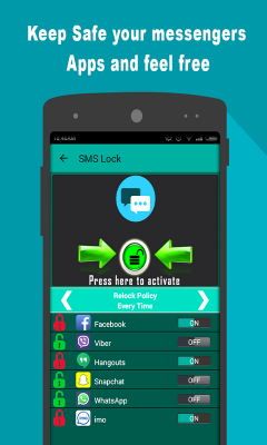SMS And Messengers Lock Zplus