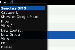 SMS Contact