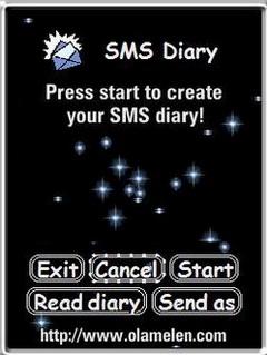 SMS Diary (UIQ3)