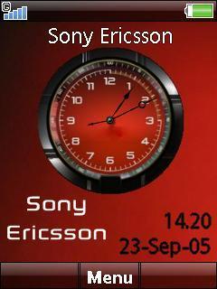Sony Ericsson Clock