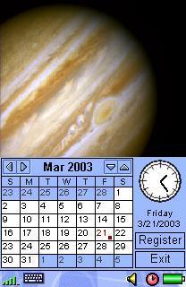 Image Calendar Solar System Edition