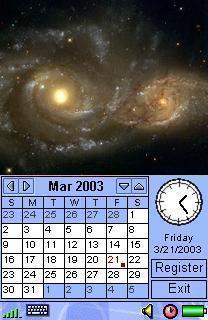 Image Calendar Galaxy Edition