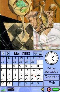 Image Calendar Cubism Edition for SE P800/P900/P910
