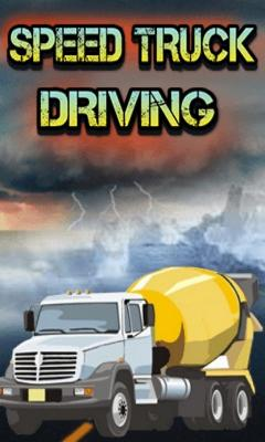 Speed Truck Driving