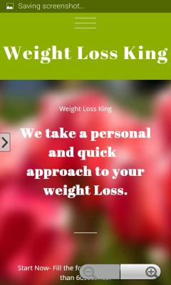 Speed up weight  loss king