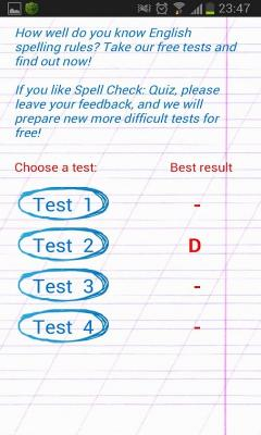 Spell Check: Test