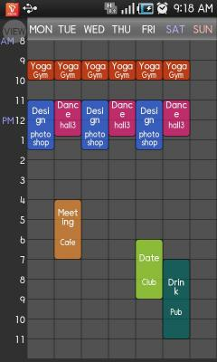 Timetable spread !