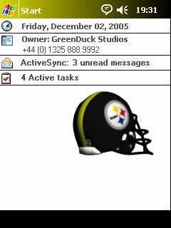 "!Rotating Pro Football Helmets! for ""Flash Themes"""