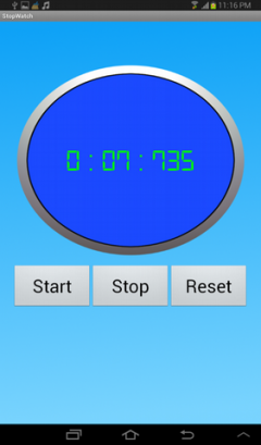 Stopwatch for free