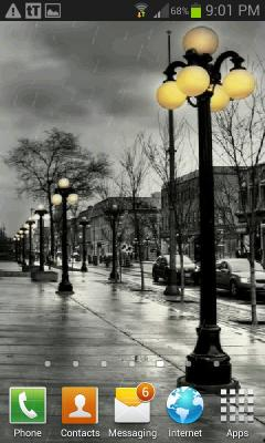 Street Lights Live Wallpaper