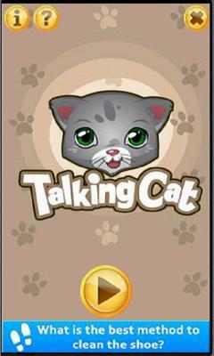 Talking Tommie Cat