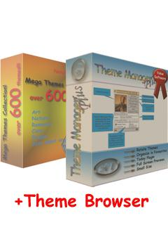 Theme Manager Plus   600 Themes!!!