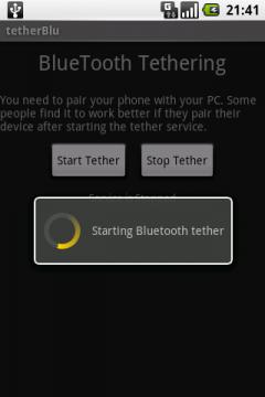tetherBlu Free Edition