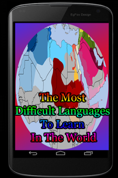 The Most Difficult Languages To Learn In The World