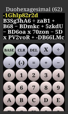 The Radix Calculator