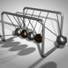 Newton's Cradle - Live Motion Wallpaper