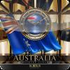 AUSTRALIA desktop Clock