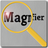 Magnifier with lens effect