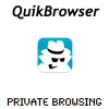 QuikBrowser: Fullscreen Private Browsing