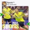 Sports Asia (Keys) for Blackberry