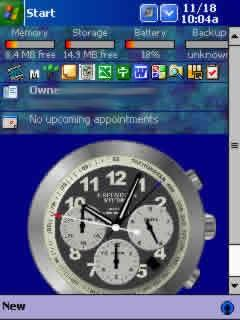 !Chronograph theme /Animated Today!