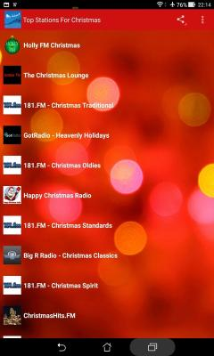 Top Stations For Christmas