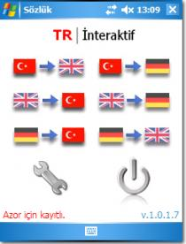 Turkish-English-German dictionary
