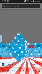 US Theme Keyboard