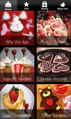 Valentines Day Recipes - Cupcake Cookies - Dessert
