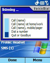 Fonix VoiceDial 2.1 (UK English), SP2003
