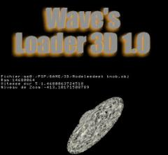 PSP Homebrew: Waves Loader 3D