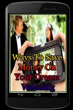 Ways To Save Money On Your Dream Wedding