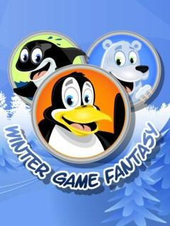 3D Winter Game Fantasy