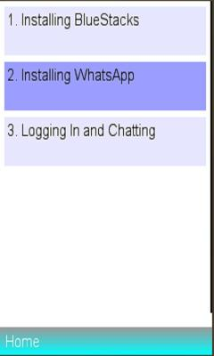 WhatsApp PC Installation