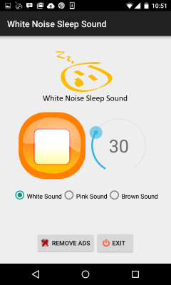 White Noise Sleep Sound