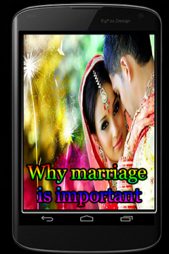 Why Marriage is important